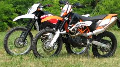 KTM 690 Enduro R vs Husqvarna TE 630 - Immagine: 32