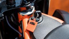 KTM 690 SMC R 2019: il blocchetto d'accensione