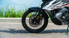KTM 790 Adventure: il serbatoio da 20 litri è posizionato in basso