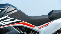 KTM 790 Adventure: la sella di serie è un po' dura