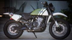 KTM 790 Adventure: una special classic by Roland Sands (video) - Immagine: 4