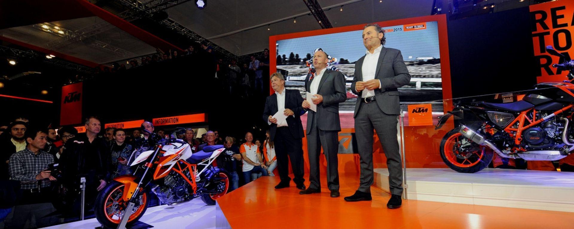 KTM salterà Eicma ed Intermot 2020, chiedendone l'annullamento