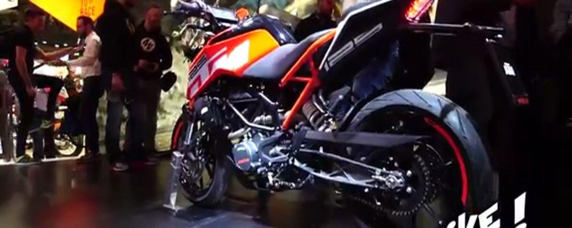 KTM Duke 125, 250 e 390