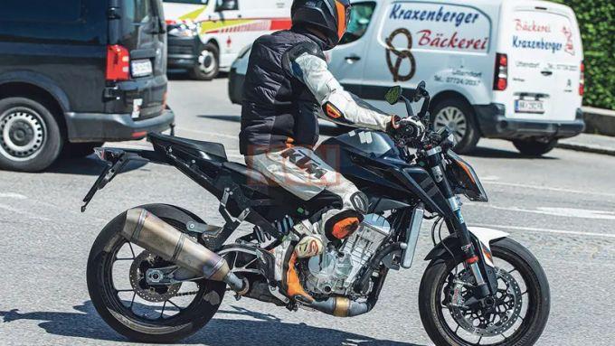 KTM: è la nuova 990 Duke?