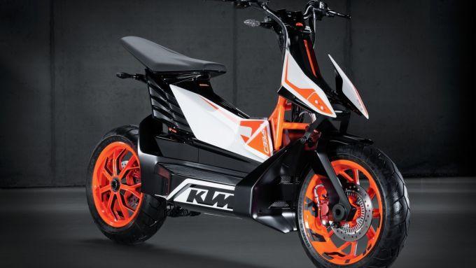KTM E-Speed, il concept presentato al Tokyo Motor Show 2013