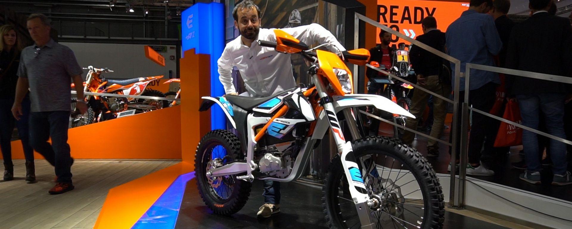 KTM Freeride E-XC 2018: nuove batterie per l'enduro elettrica [VIDEO]