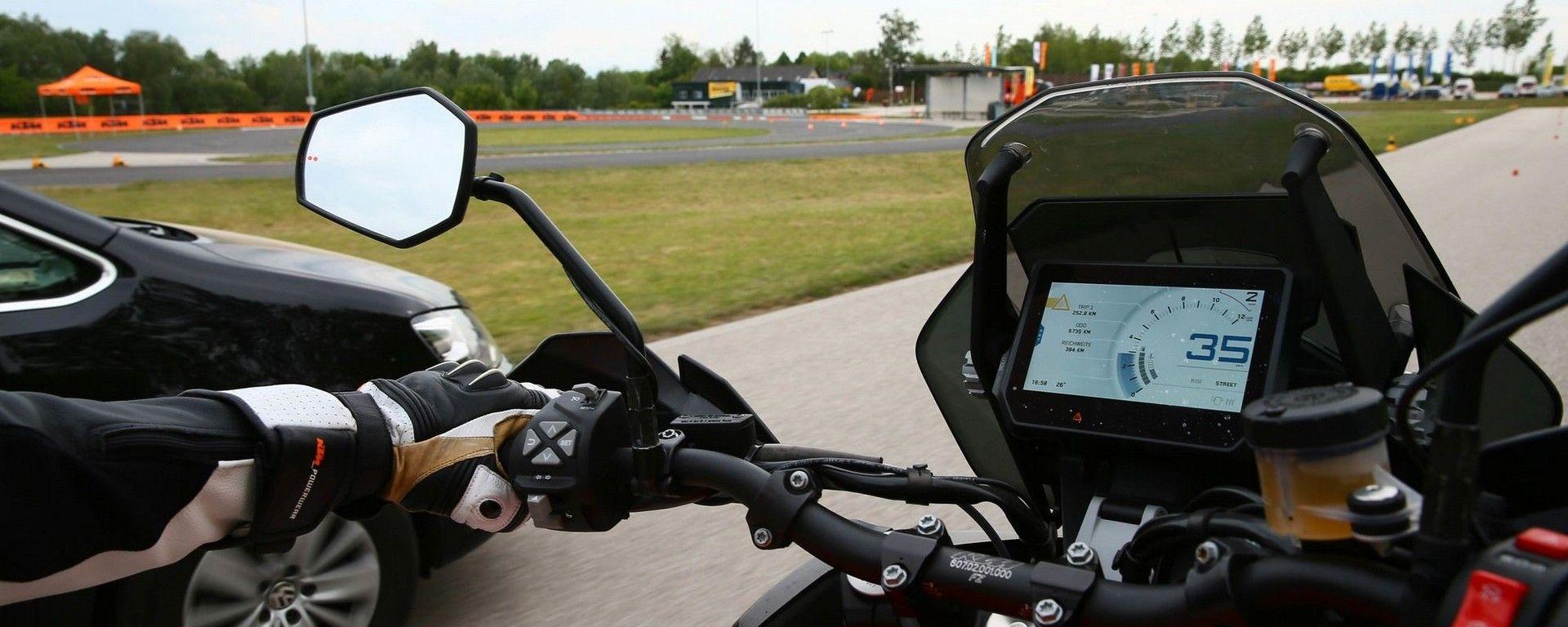 KTM: in arrivo gli ADAS anche sulle moto