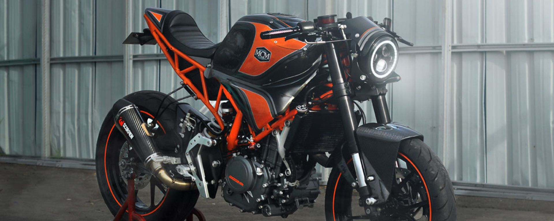 KTM RC 250 Café Racer by Minority Custom Motorcycles