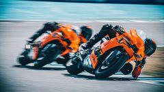KTM RC 8C: la consegna a Jerez in pista con Pedrosa