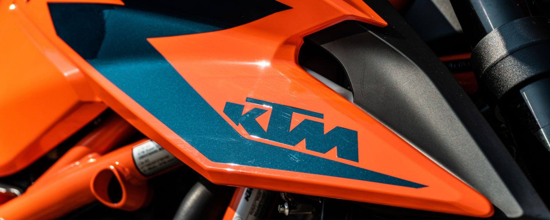 KTM: spuntano alcuni dati della 1290 Super Duke RR