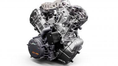 KTM Super Duke 1290 R 2020, il bicilindrico da 1.301 cc