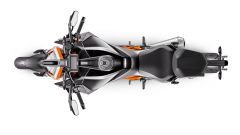 KTM Super Duke 1290 R 2020, vista dall'alto