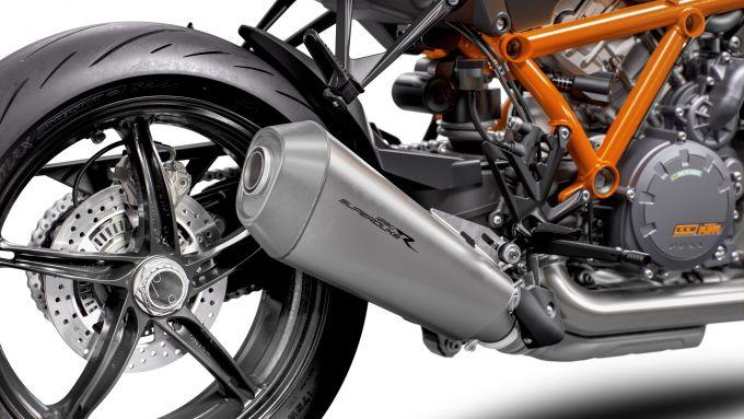 KTM Super Duke 1290 R, ciclistica sopraffina