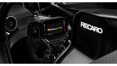 KTM X-Bow GTX: l'abitacolo