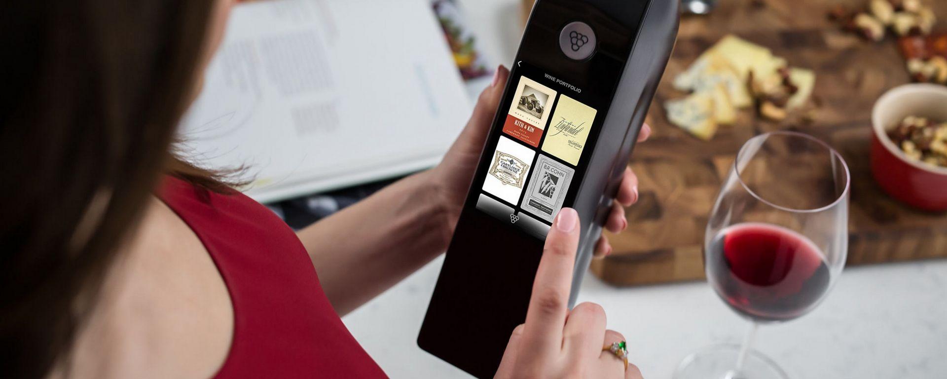 Kuvée IoT: la bottiglia di nuova generazione