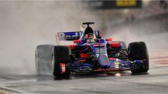Kvjat e la Toro Rosso - F1 2017 test Barcellona