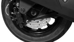 Kymco Agility + 300: freno posteriore a disco