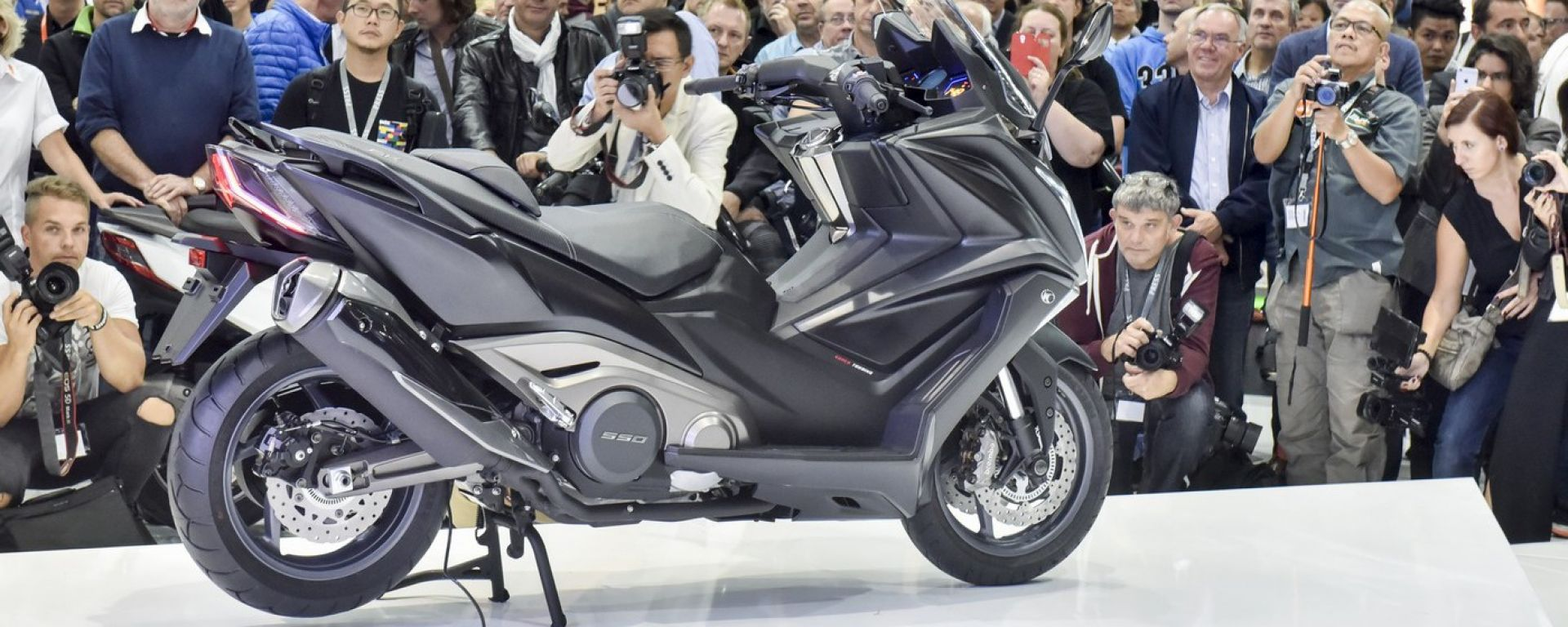 Kymco AK 550, arriva il maxi scooter taiwanese