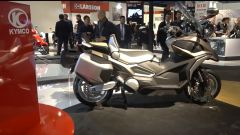 Kymco CV2 e CV3, gli scooter concept versatili e innovativi [VIDEO] - Immagine: 1