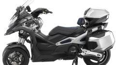 Kymco CV3 2020: multi fit senza sella del passeggero e borse laterali e superiore