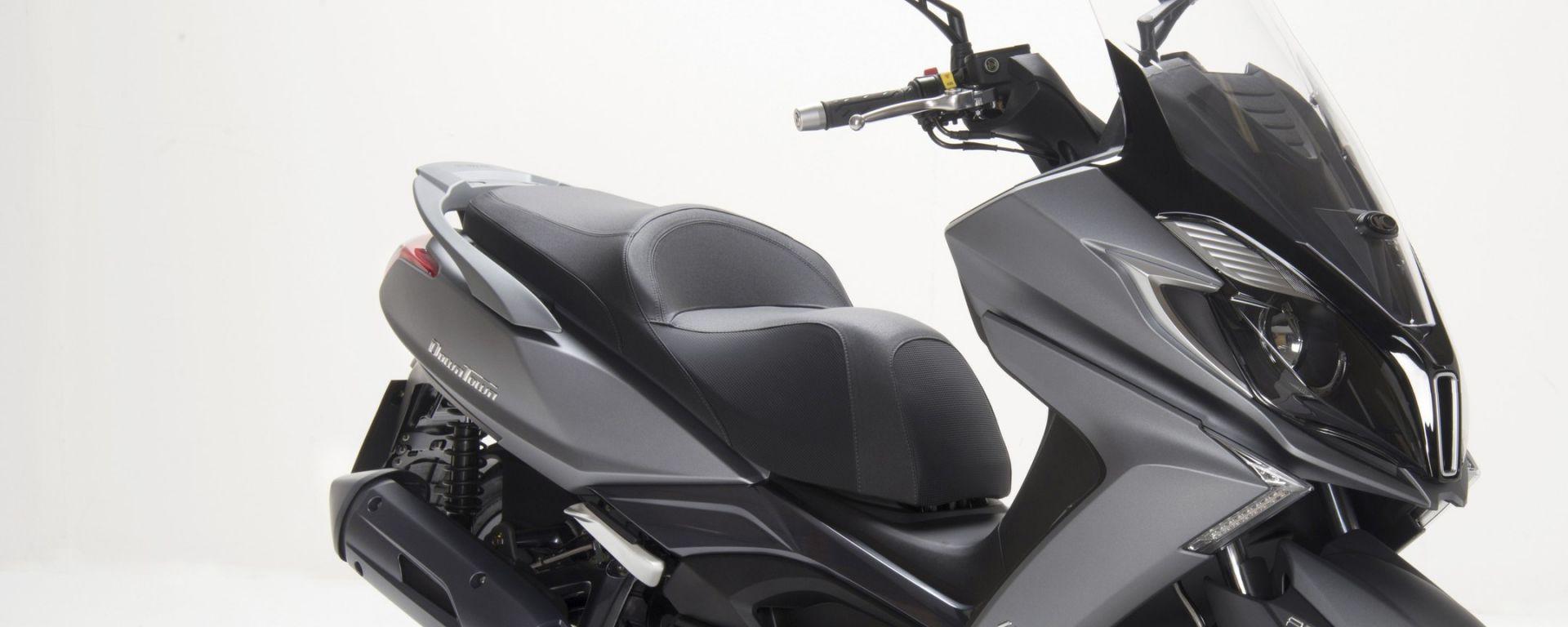 novit scooter kymco downtown 125 motorbox. Black Bedroom Furniture Sets. Home Design Ideas