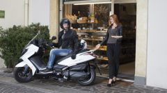 Kymco Downtown 350i ABS 2017 Euro 4, in coppia