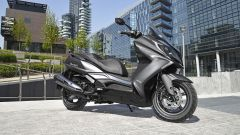 Kymco Downtown 350i, qui in versione ABS