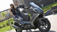 Kymco Downtown 350 TCS: lo scooter con il Traction Control