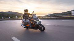 Kymco DTX360: motore, ciclistica, uscita, prezzo