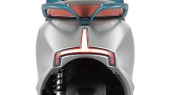 Kymco i-One DX: visuale posteriore