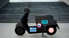 Kymco Ionex: lo scooter elettrico cambia sistema - Immagine: 2