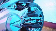 Kymco K50 Concept: le foto ufficiali - Immagine: 7