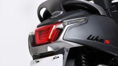 Kymco Like S 125i: dettaglio posteriore