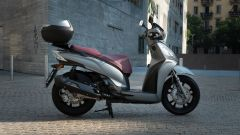 Kymco People S 300, vista laterale