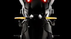 Kymco RevoNEX: visuale posteriore
