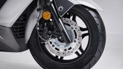 Kymco X-Town 300i ABS 2021: il disco anteriore