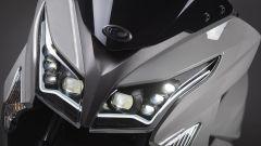 Kymco X-Town 300i ABS 2021: il gruppo ottico anteriore a LED