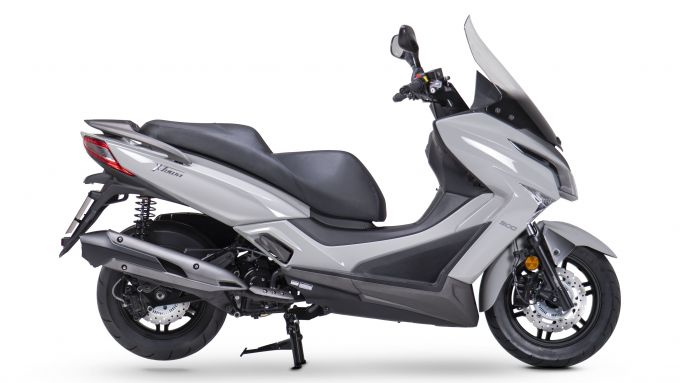 Kymco X-Town 300i ABS 2021: vista laterale