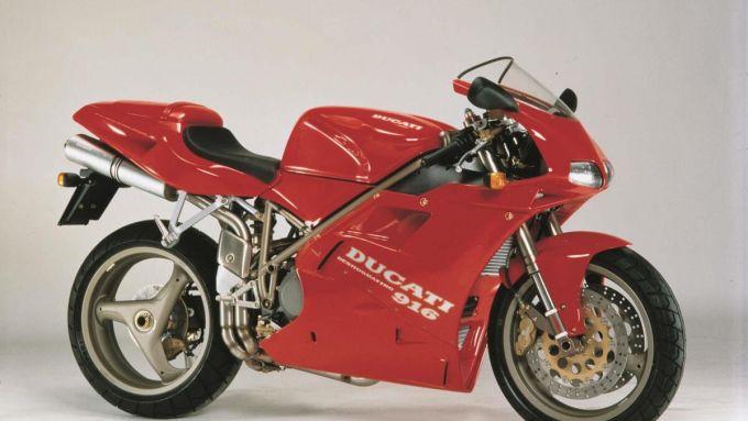 La 916 è la supersportiva Ducati vintage più desiderata
