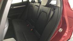 La Alfa Romeo Stelvio: i sedili posteriori