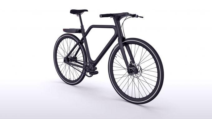 La Angell e-bike in color nero opaco