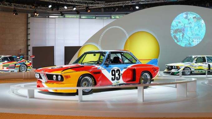 La Art Car BMW che sarà in mostra all'Urban Store di via De Amicis