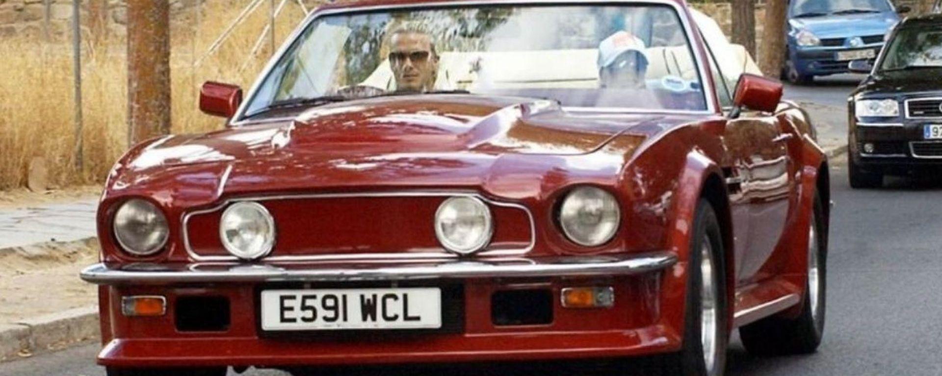 La Aston Martin AMV8 Volante di David Beckham è in vendita