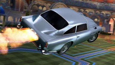 La Aston Martin DB5 del 1963 di 007 in Rocket League