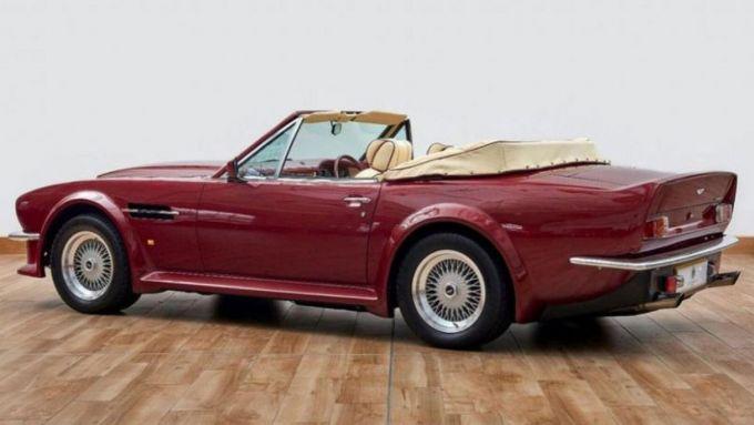 La Aston Martin di David Beckham in vendita