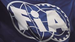 La bandiera della Federazione Internazionale dell'Automobile (FIA)