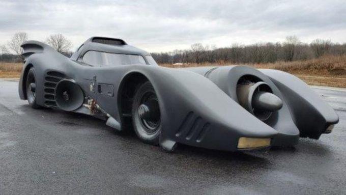La Batmobile all'asta