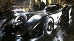La Batmobile del primo film con Jack Nicholson nei panni di Joker