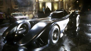 La Batmobile del primo film di Batman