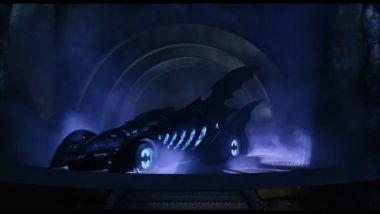 La Batmobile di Val Kilmer, del film del 1995